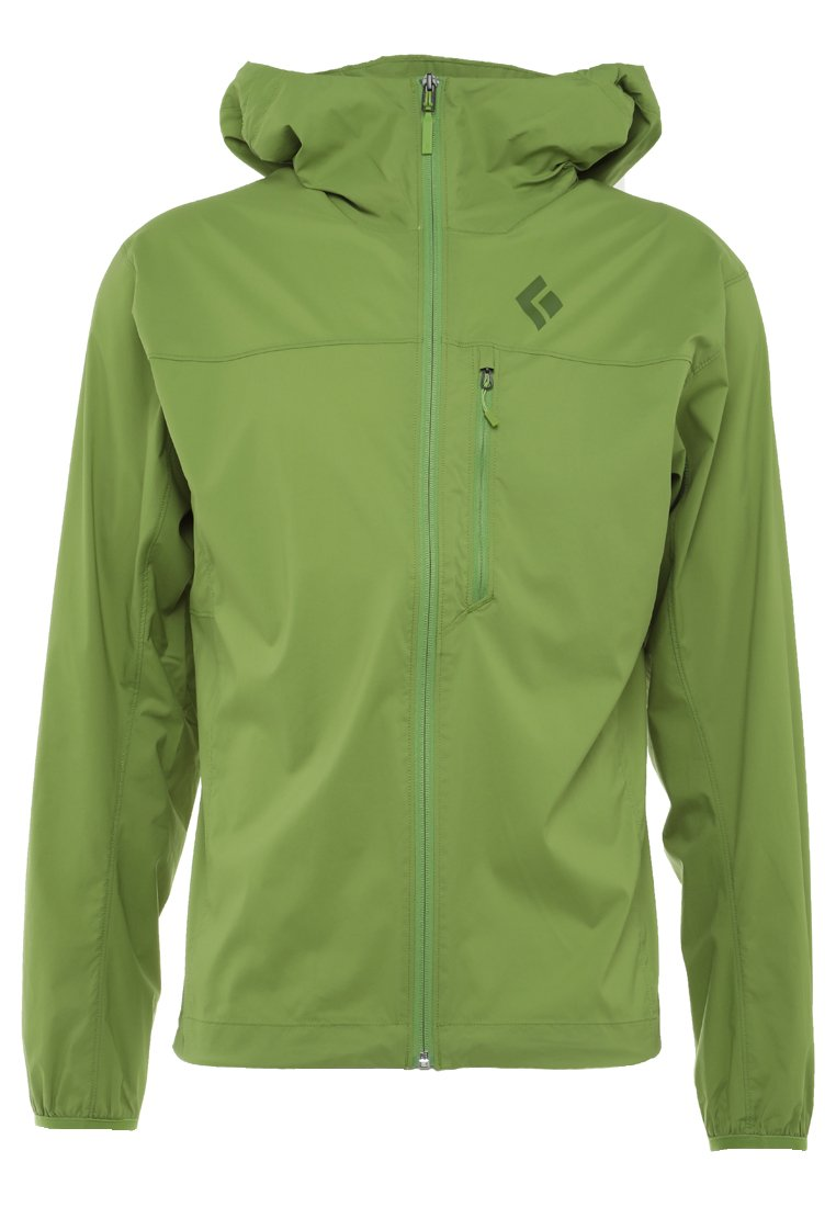 Black Diamond ALPINE START HOODY Kurtka Outdoor verde - K51I