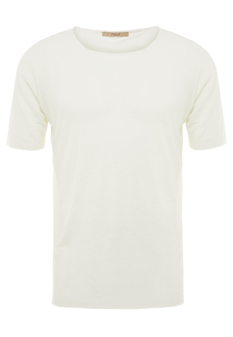 Nuur GIROCOLLO SEAMLESS Tshirt basic white - NV0221 NV03