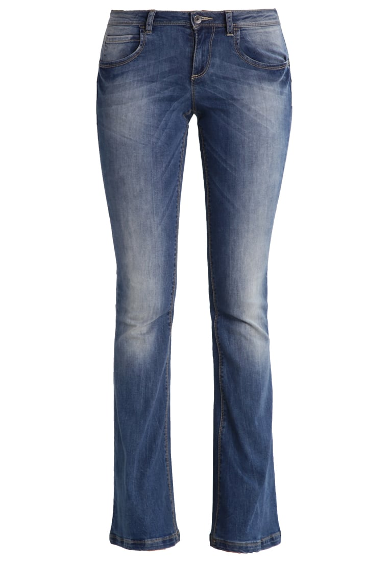 Benetton Jeansy Dzwony denim blue - 4AL1572V5
