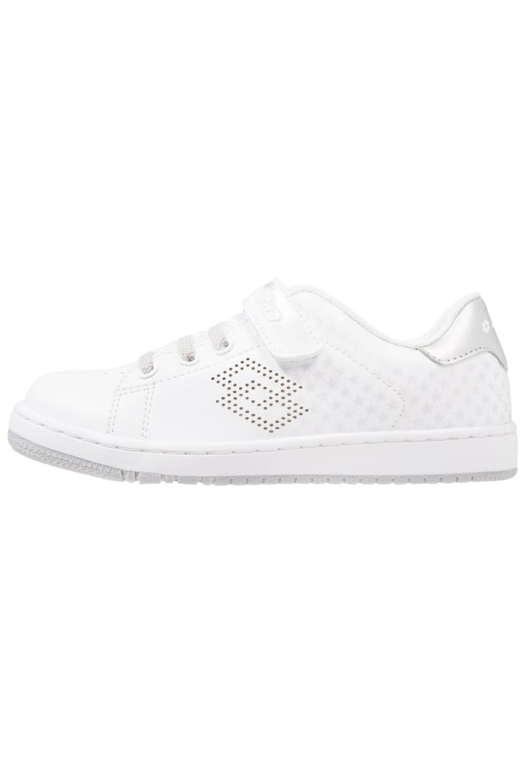 Lotto 1973 IV STAR Buty treningowe white/silver - T0220