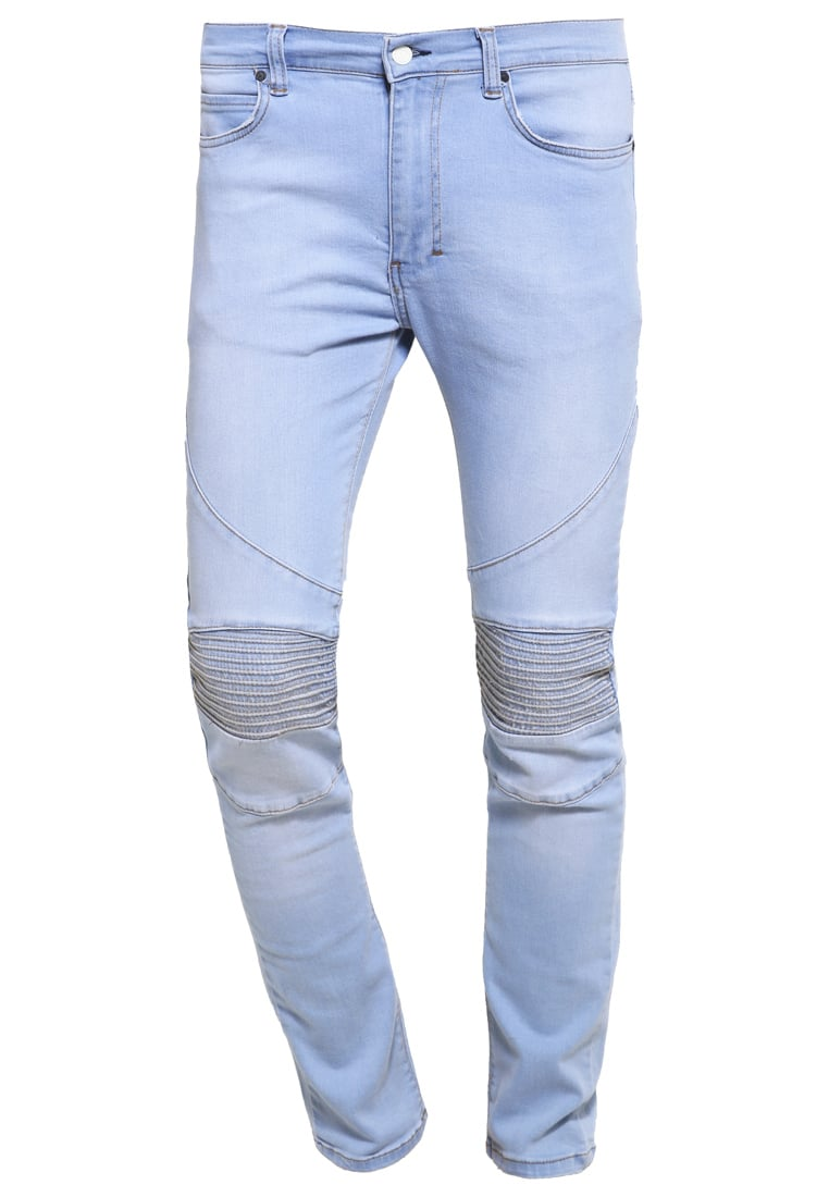 Religion CRYPT Jeansy Slim Fit stone wash 80s blue - MECYP31