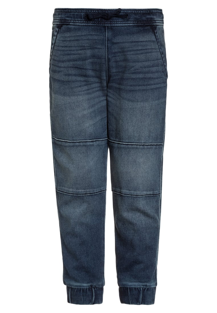 Abercrombie & Fitch JOGGERS Jeansy Relaxed Fit blue - KI231-6507-380827