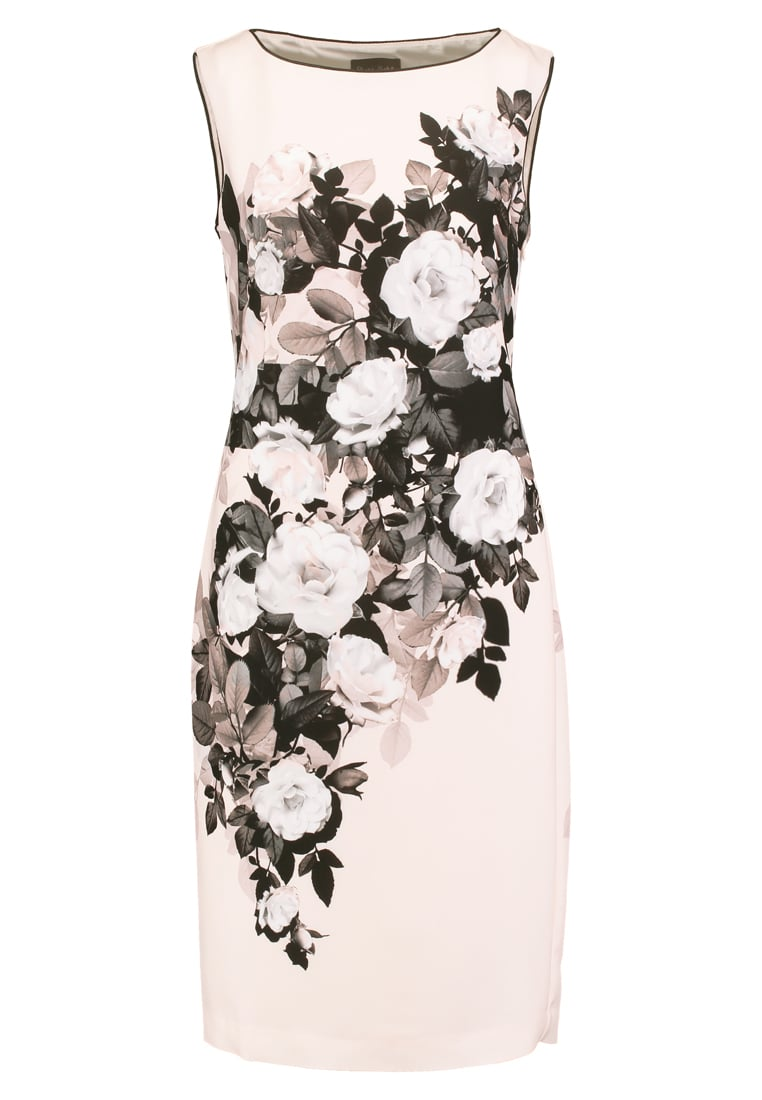 Phase Eight ELEANOR Sukienka etui mauve chalk/black - Eleanor Print Dress