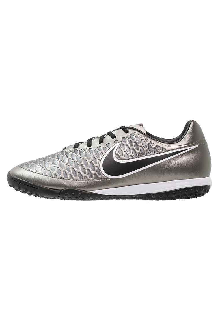 Nike Performance MAGISTA ONDA TF Korki Turfy metallic pewter/black/ghost  green/white