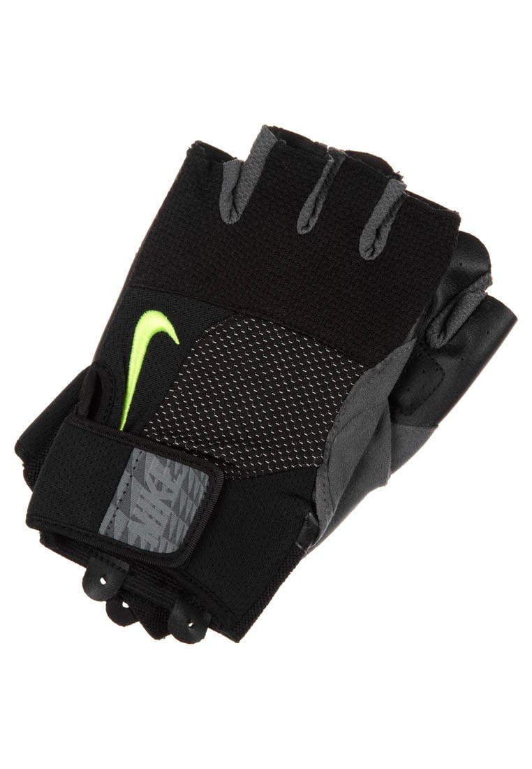 Nike Performance MEN`S LOCK DOWN TRAINING GLOVES Mitenki black/volt - 9092/22