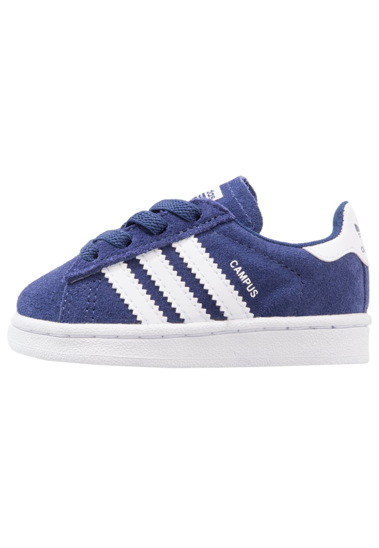 adidas Originals CAMPUS EL I Półbuty wsuwane dark blue/footwear white - CEJ22