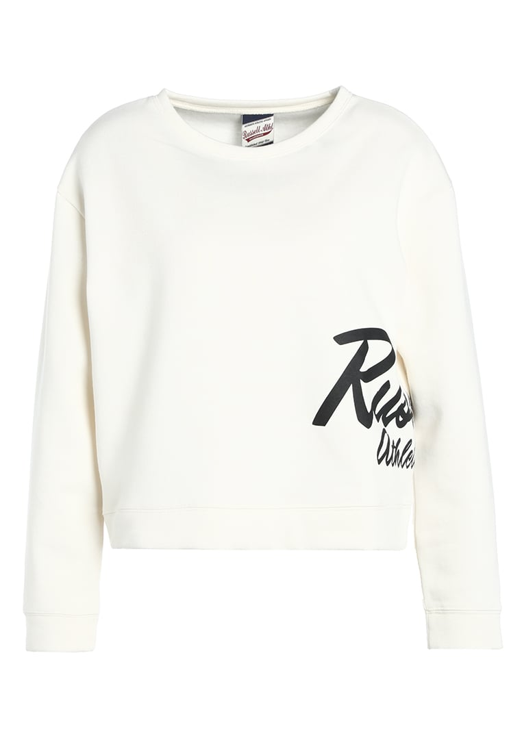 Russell Athletic CREW NECK Bluza soya - A7-134-2