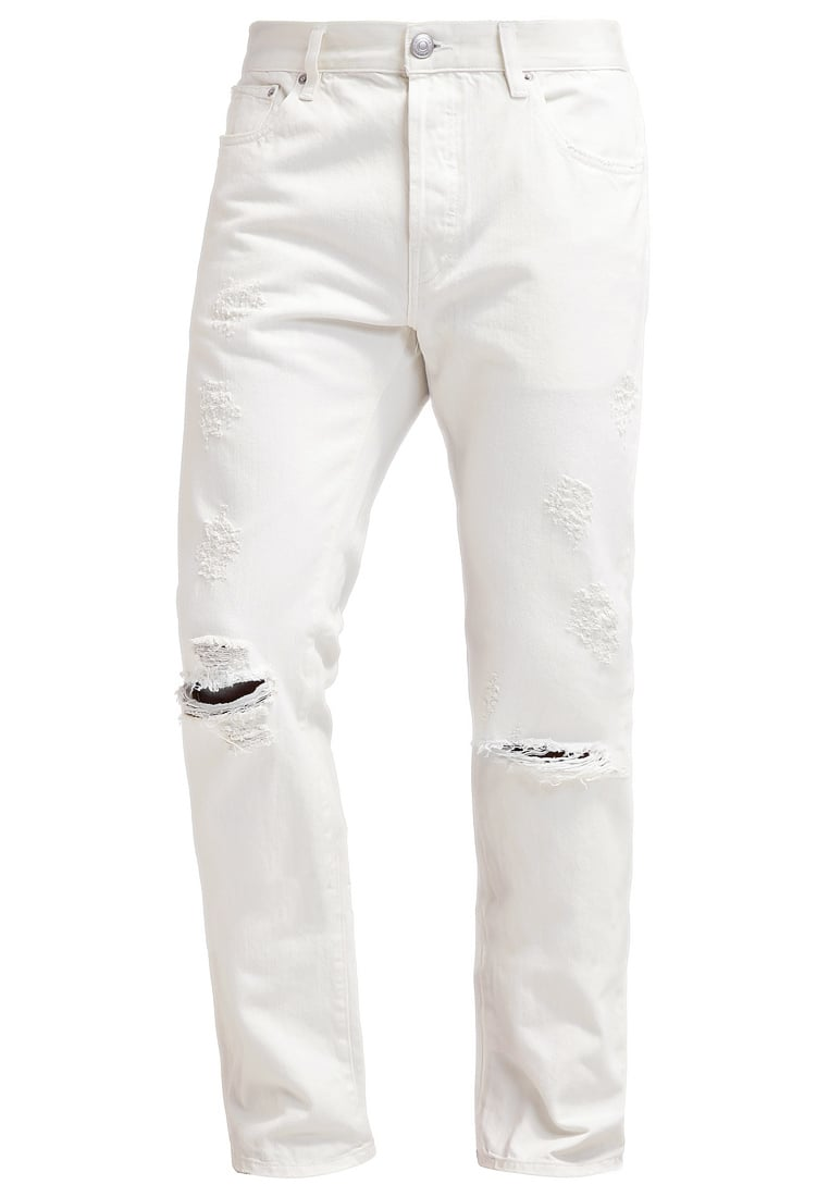 Earnest Sewn ALLEN Jeansy Slim fit white - 1G051156