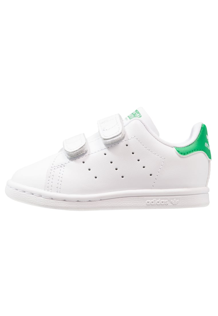 adidas Originals STAN SMITH CF I Buty do nauki chodzenia white/green - BEG36