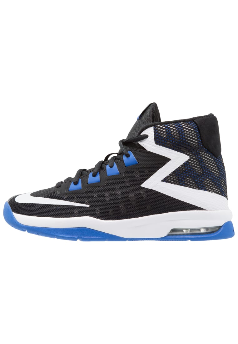Nike Performance AIR DEVOSION Buty do koszykówki black/white/game royal - 845081