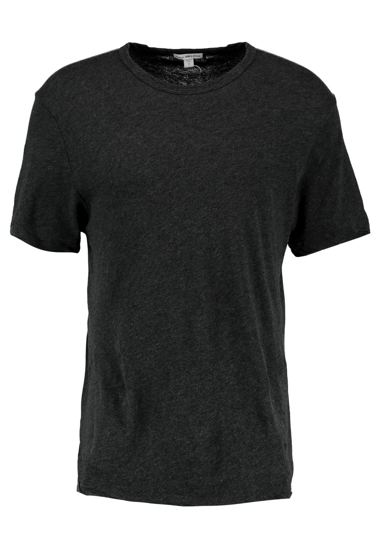 James Perse CONTRAST Tshirt basic anthracite - MFCJ3103