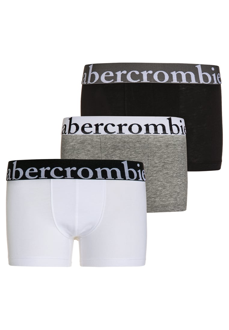 Abercrombie & Fitch 3 PACK Panty white/grey/black