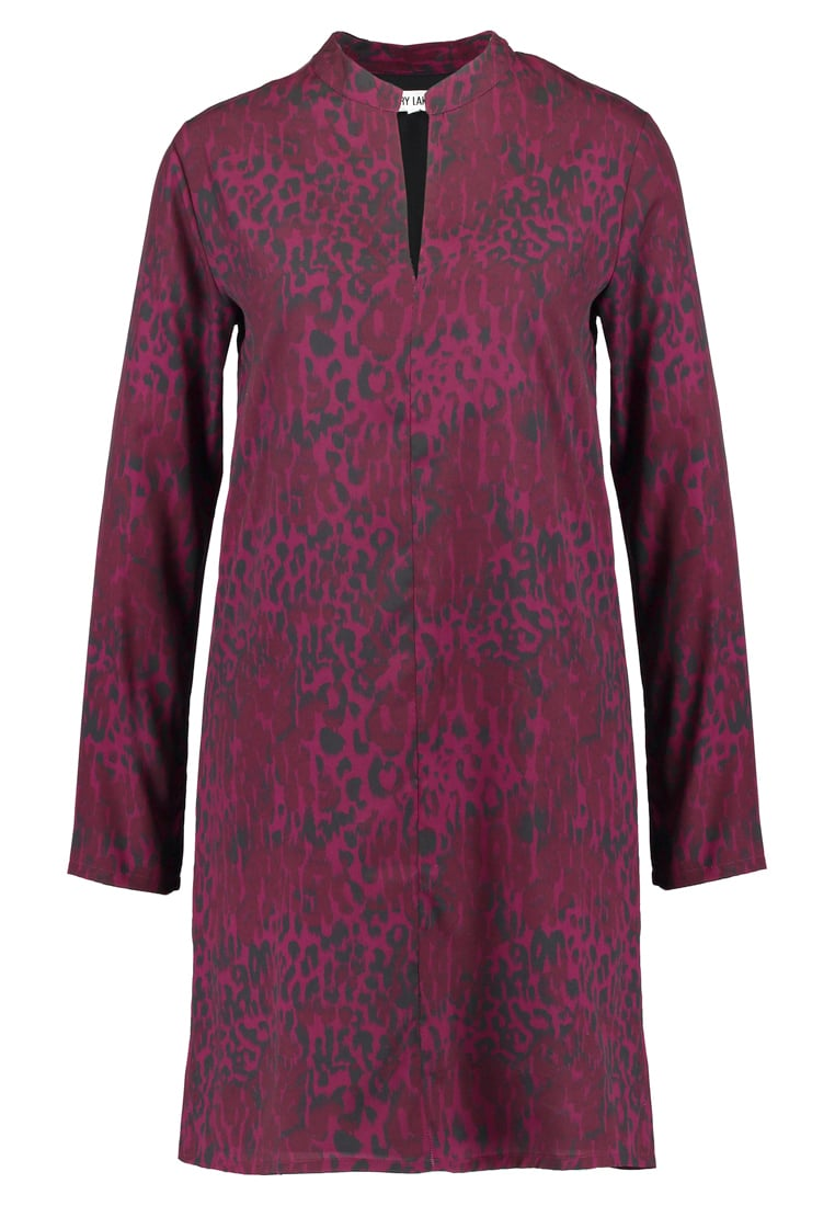 Dry Lake BLEAK SLEEVE Sukienka letnia red leo - 1042155