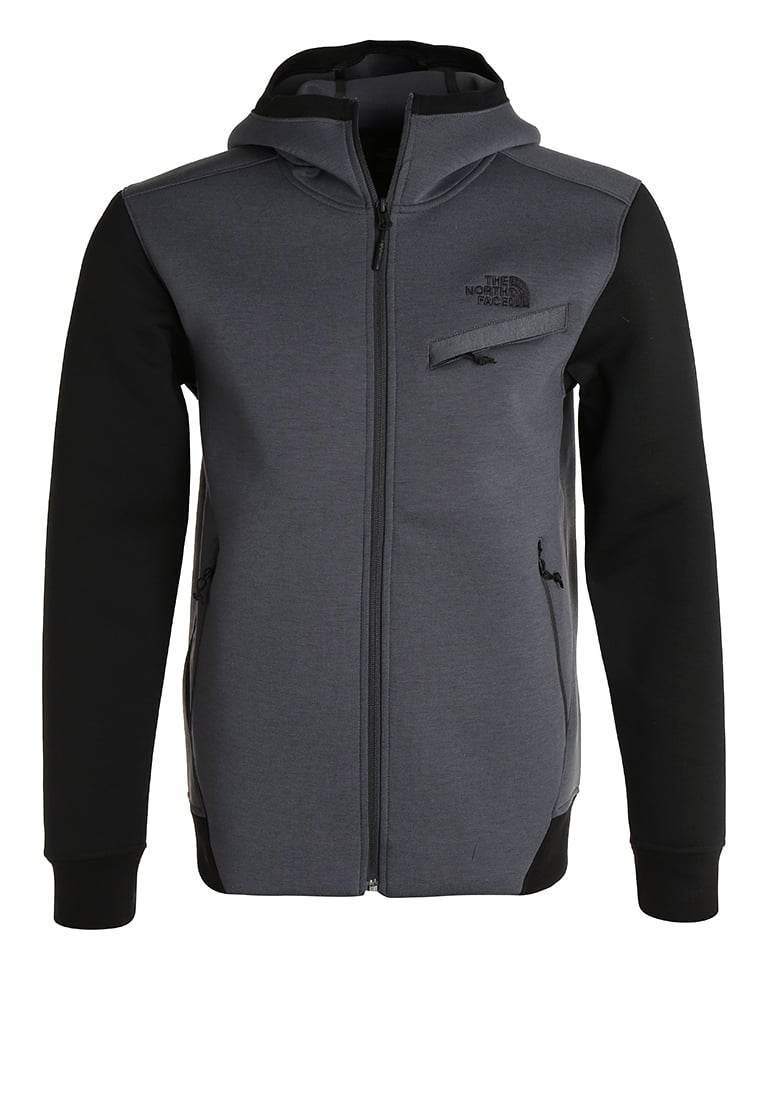 The North Face Bluza rozpinana dark grey heather - T92TDC
