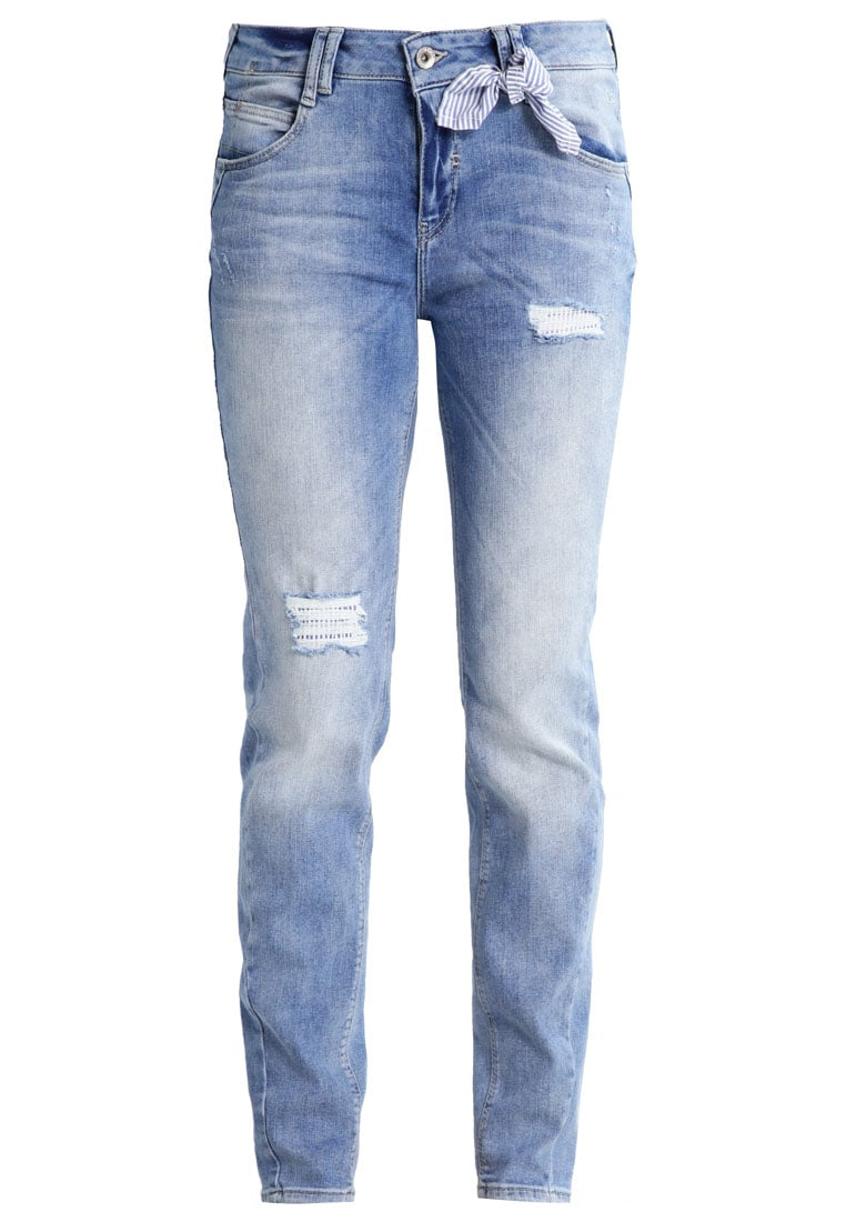 comma casual identity Jeansy Relaxed fit blue denim stretch - 88701713621