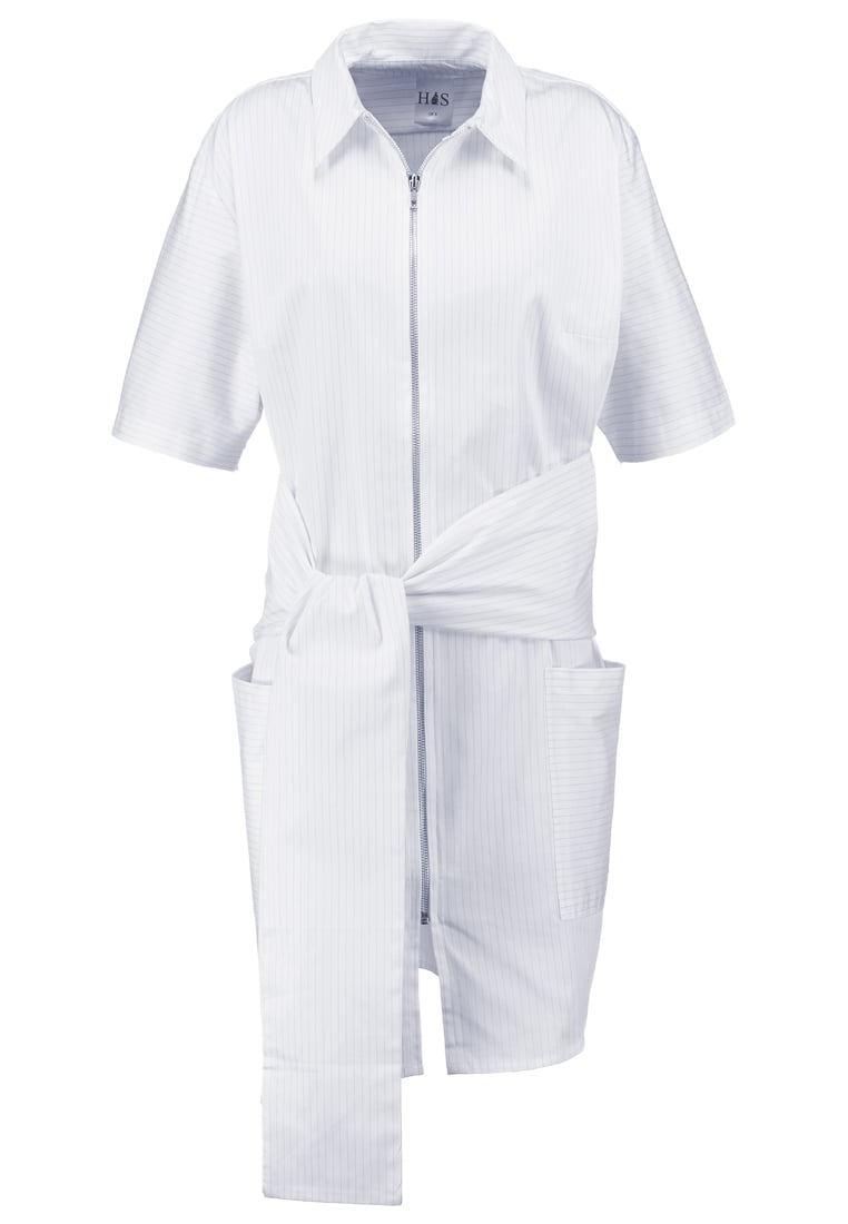 House of Sunny PURISM Sukienka letnia white - Purism Shirt Dress