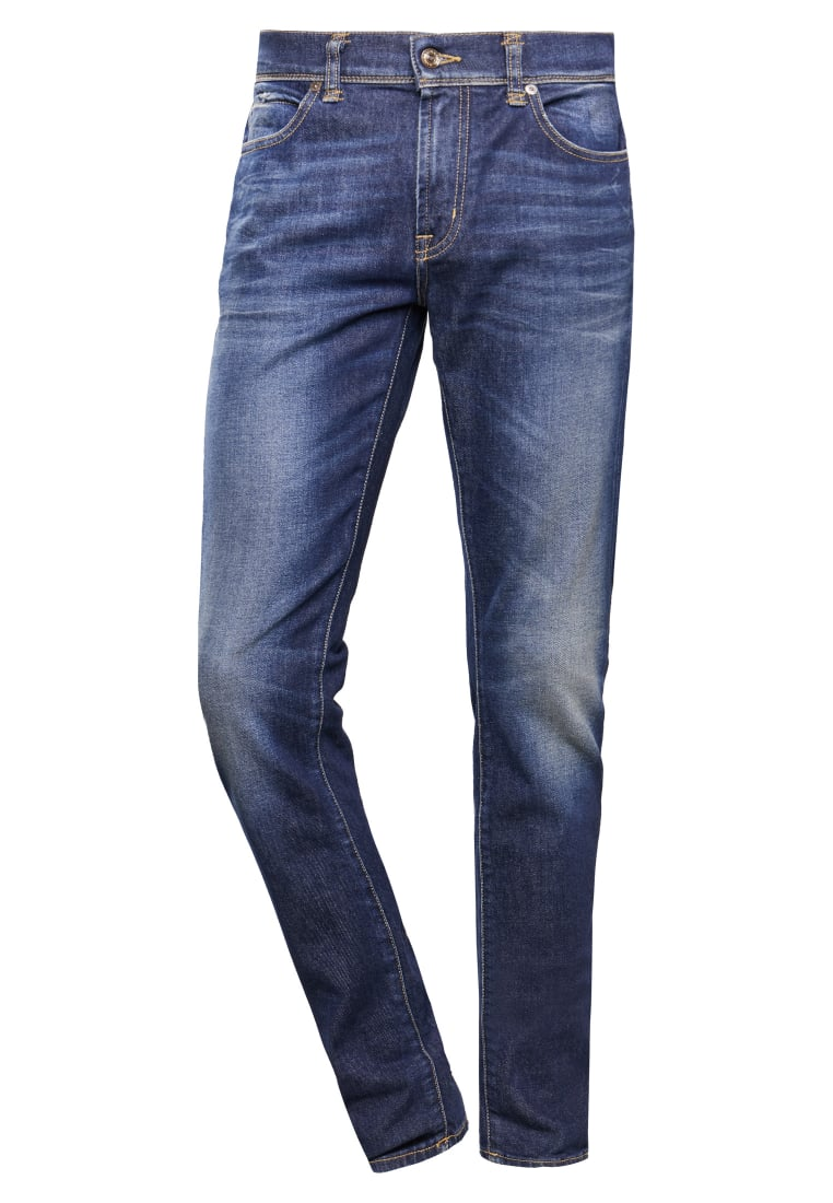 7 for all mankind RONNIE Jeansy Slim fit blue - SD4U440CJ