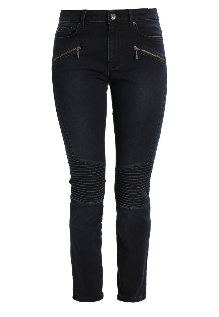 More & More Jeansy Slim fit black blue