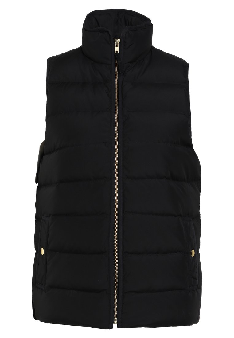 J.CREW ANTHEM VEST NEW EXCURSION Kamizelka black - H1622