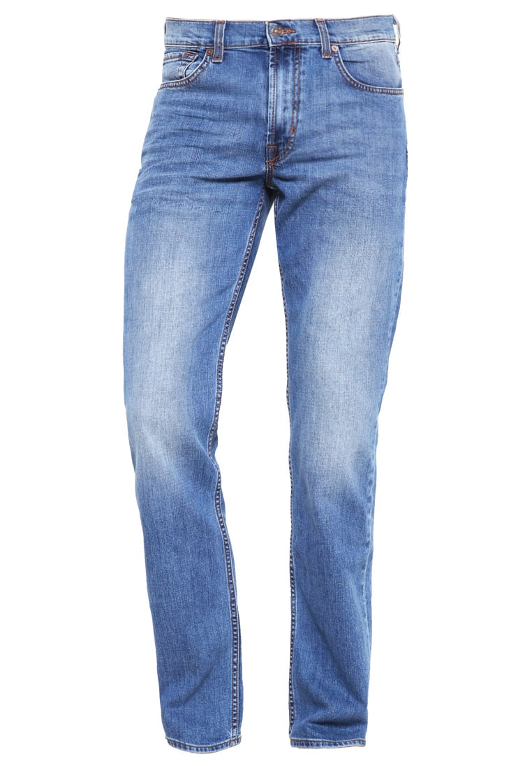 7 for all mankind SLIMMY Jeansy Straight leg blue - SMSU 090MB