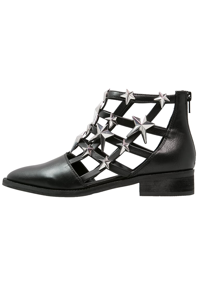 Eeight NELLY Ankle boot black/silver - NELLY