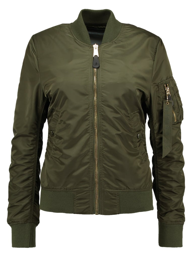 Alpha Industries Kurtka Bomber darkgreen
