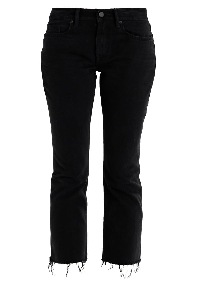 AllSaints SERENE KICK FLARE Jeansy Straight leg black - WE100M