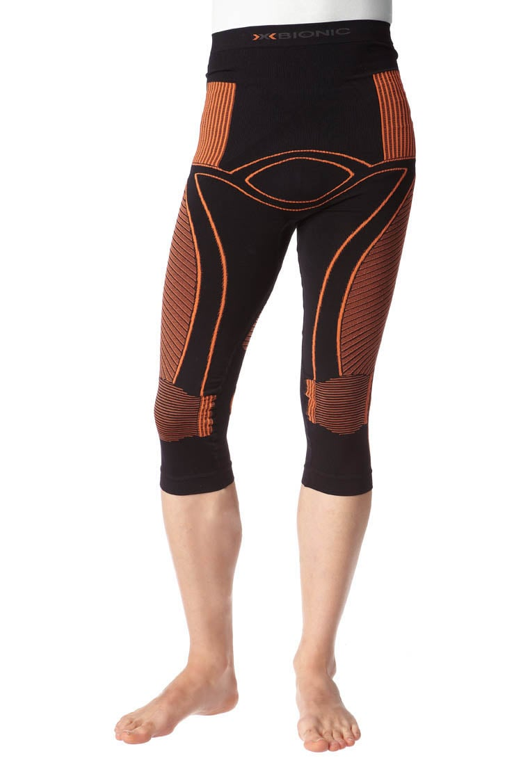 X Bionic EACC PANTS MEDIUM Legginsy black/orange - I020012