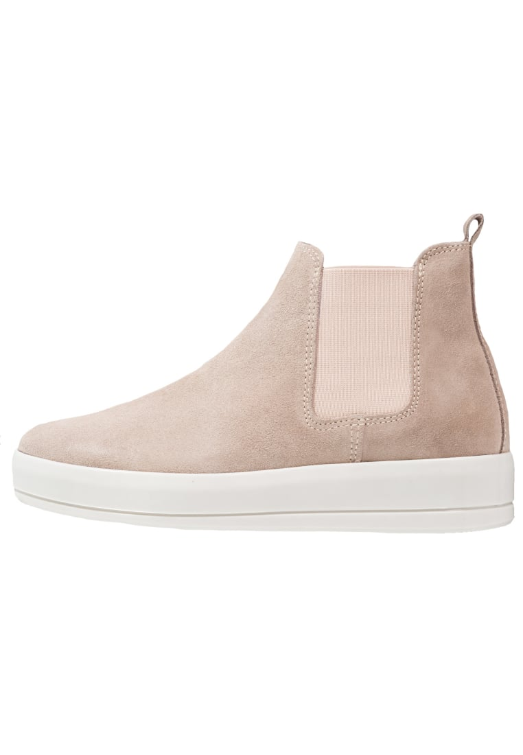 Bianco Ankle boot beige/white - 27-49599