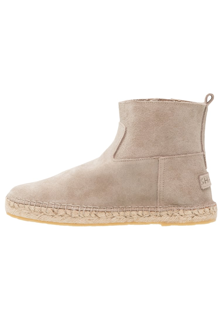 Shabbies Amsterdam Ankle boot taupe - 152020001