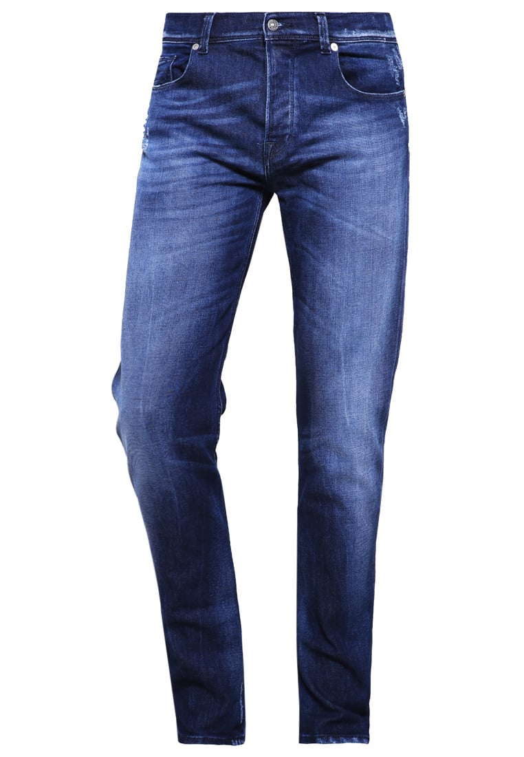 7 for all mankind CHAD Jeansy Slim fit indigo - SD3R440