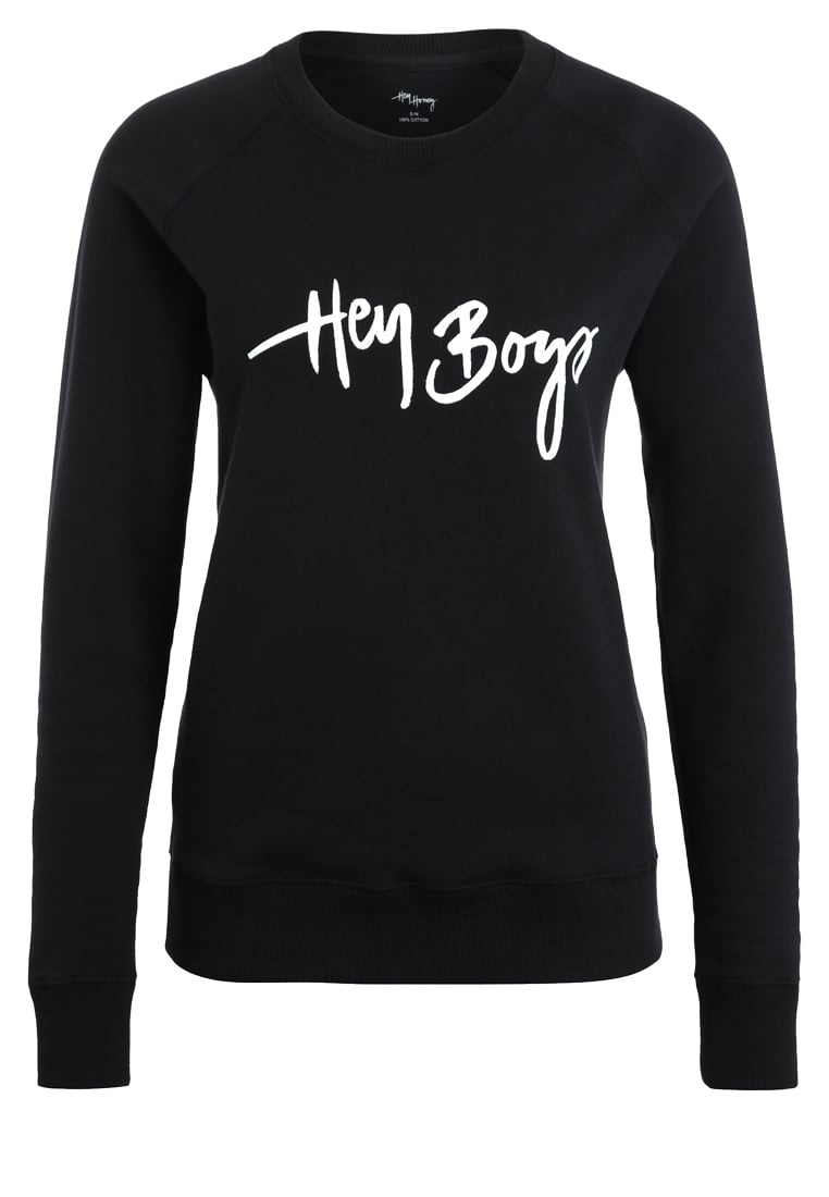Hey Honey Bluza black - Sweater Boys