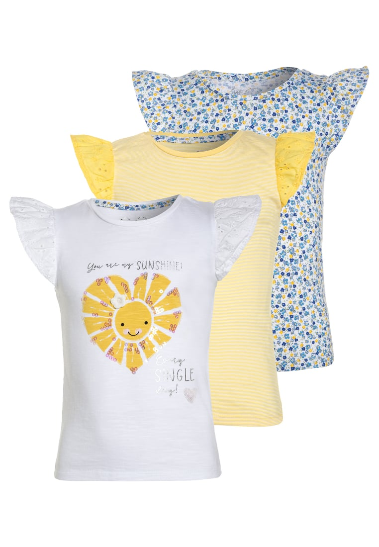 mothercare 3 PACK Tshirt z nadrukiem lights multicolor - LG345