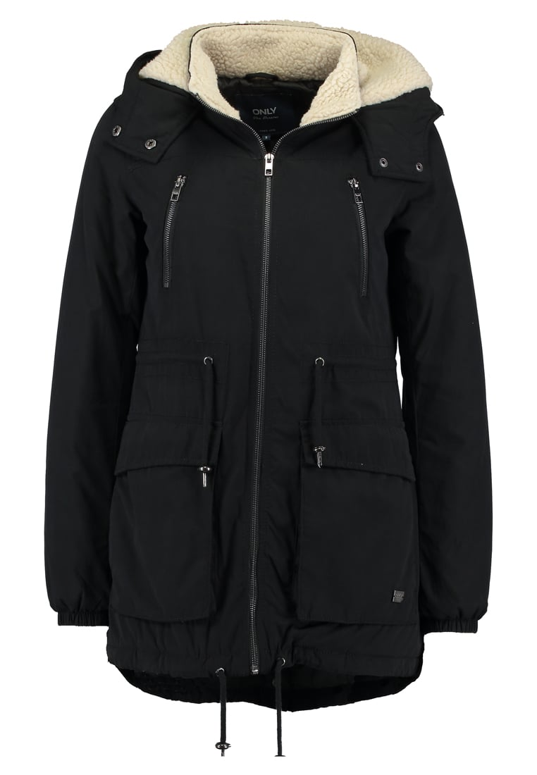 Only Petite ONLANNA AW Parka black - 15143429