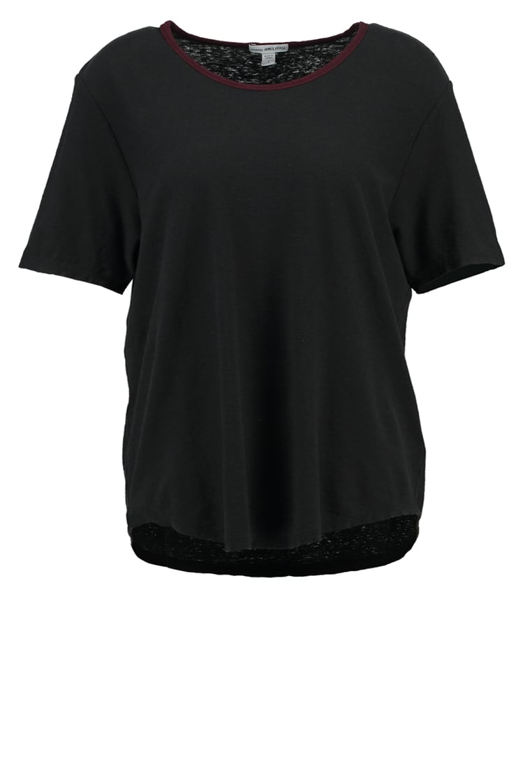 James Perse Tshirt basic carbon - WYH3769