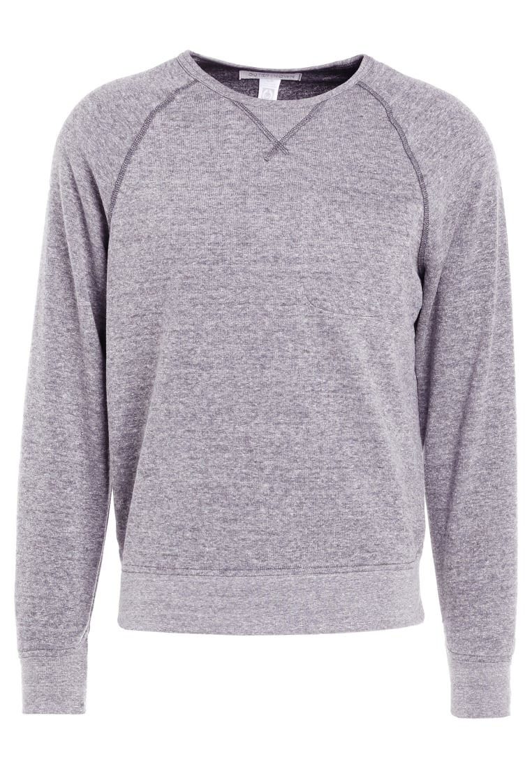 Outerknown TRANSIT CREW Bluza mottled grey - 1240014