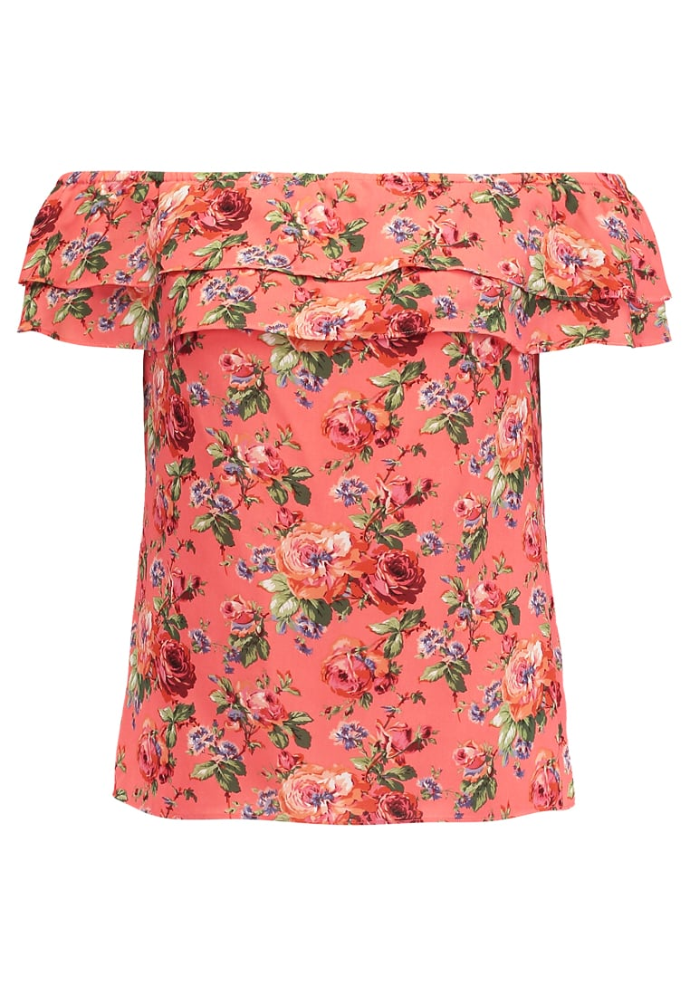 Oasis Bluzka multi coral - ROSE BARDOT TOP
