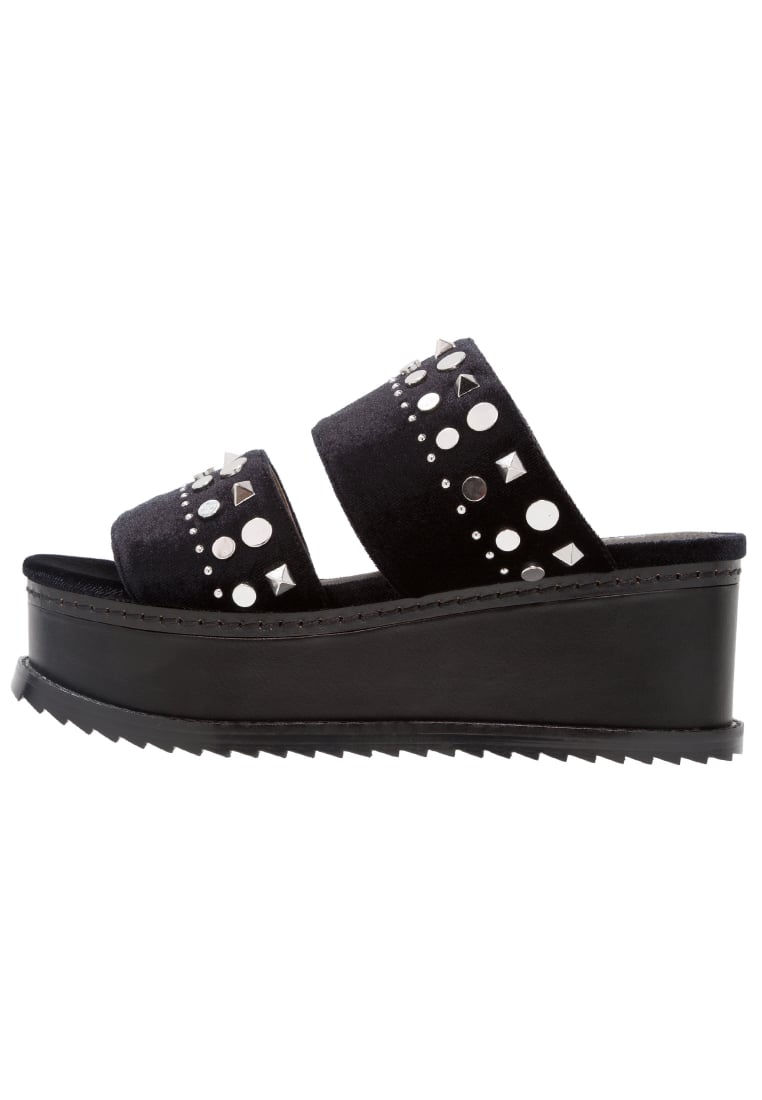 Shellys London EDEN Klapki black