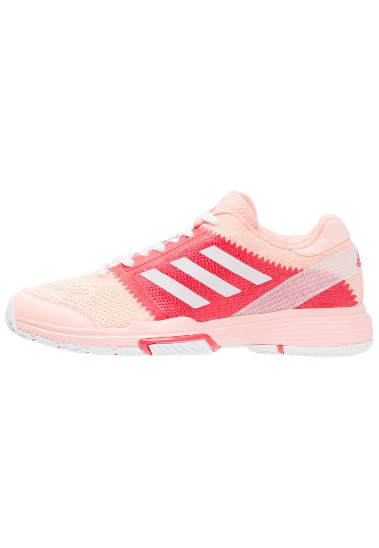 adidas Performance BARRICADE CLUB Buty multicourt haze coral/white/coral pink - KDZ71
