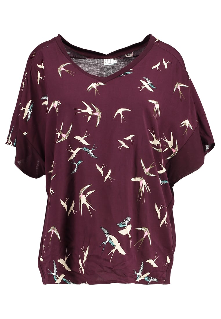 Saint Tropez BIRD Bluzka bordeaux - R1528