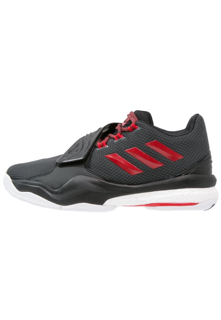 adidas Performance D ROSE ENGLEWOOD BOOST Buty do koszykówki solid grey/ray red/core black - GTZ95