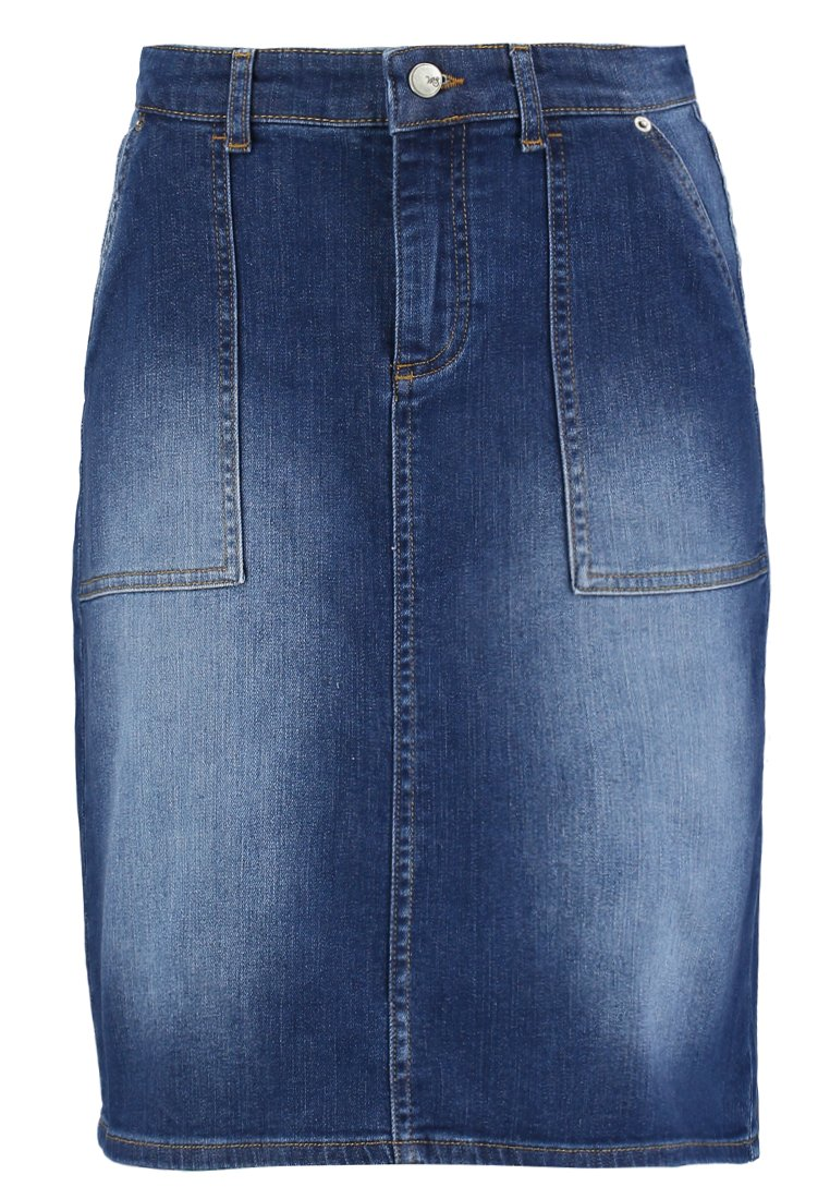 White Stuff CARPENTER SKIRT Spódnica jeansowa denim - 422342