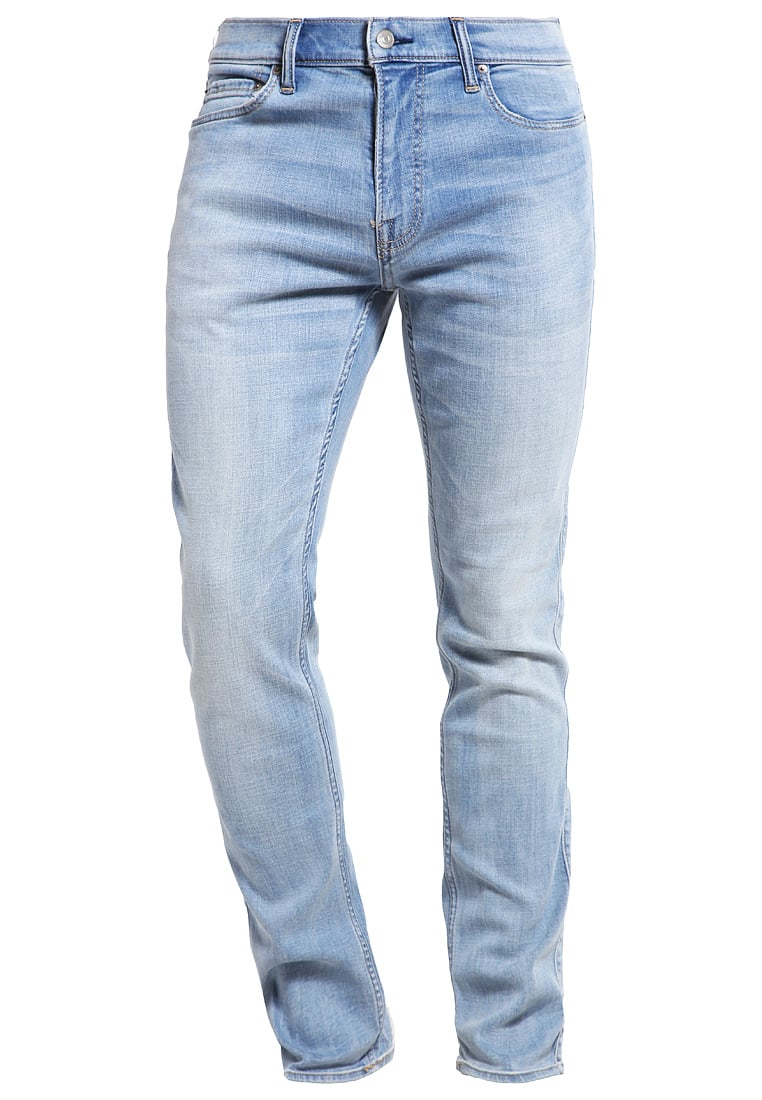 Abercrombie & Fitch Jeansy Slim fit light wash - KI131-6124