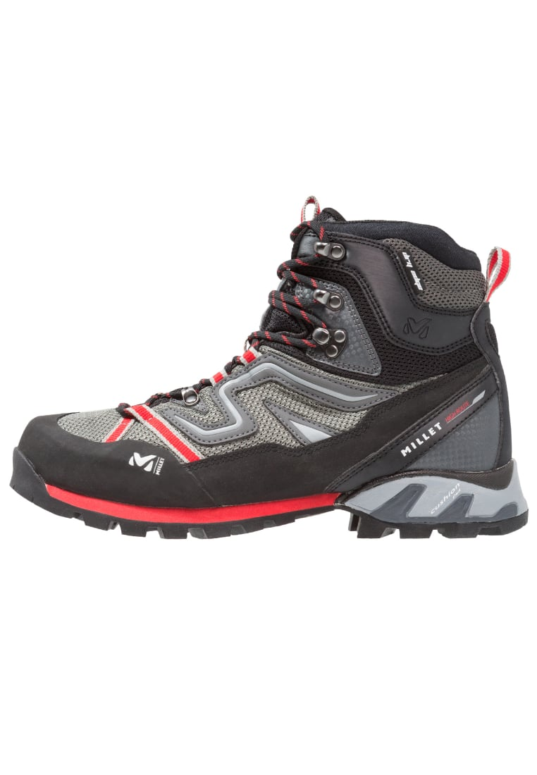 Millet HIGH ROUTE Buty trekkingowe grey/red - MIG1337