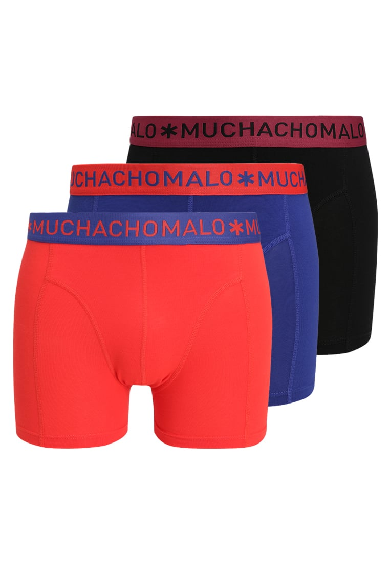 MUCHACHOMALO MEN SOLID 3 PACK Panty multicolor - 1010SOLID201