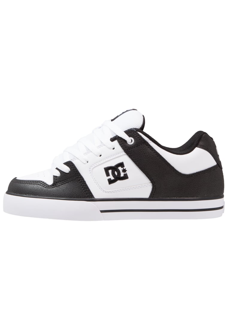 DC Shoes PURE Buty skejtowe black/white - 300660