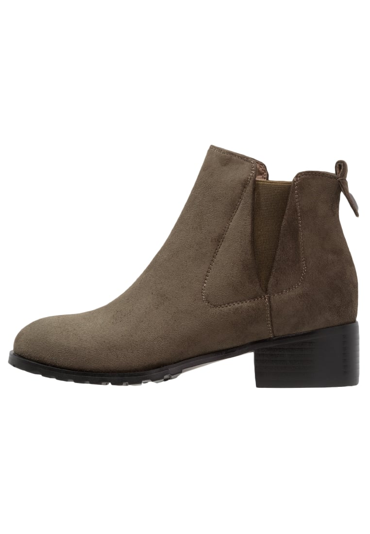 Lost Ink Ankle boot khaki - 0501118010010083