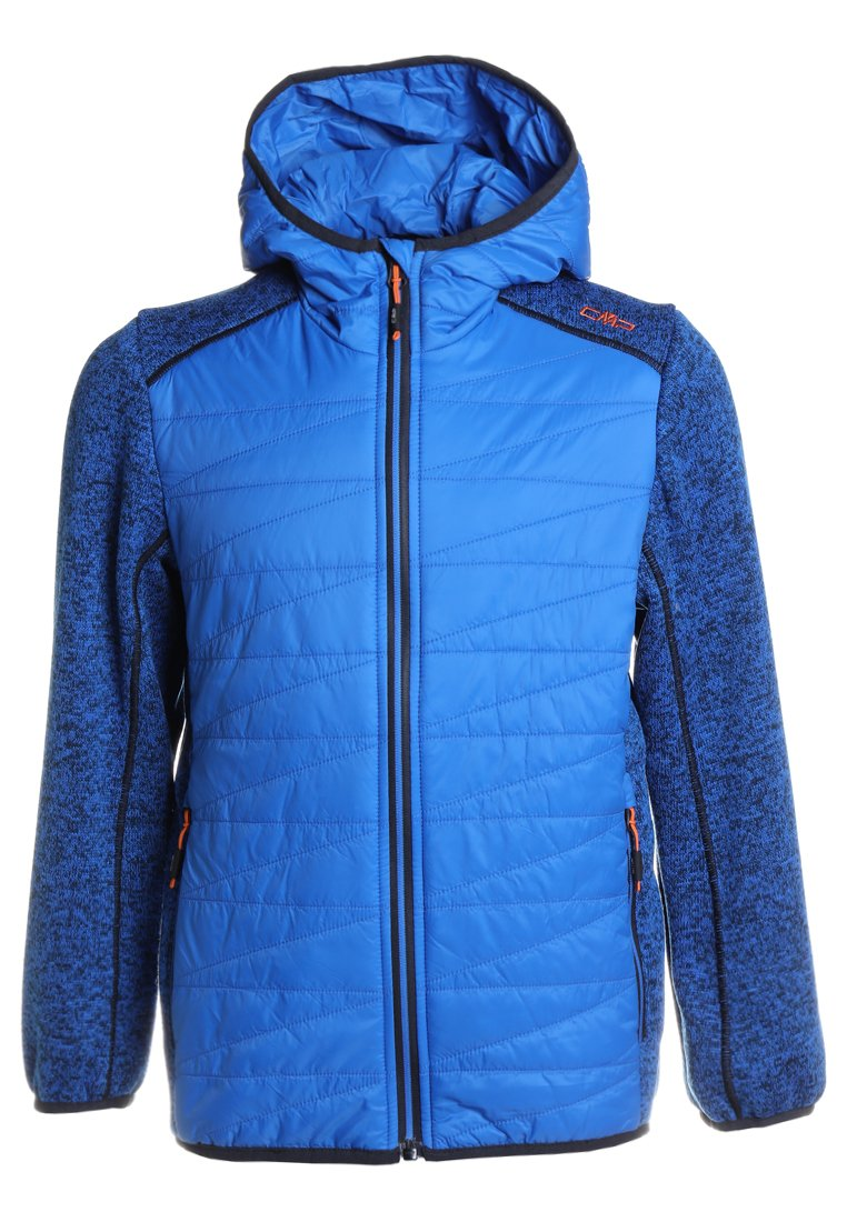 CMP BOY FIX HOOD HYBRID JACKET Kurtka Outdoor zaffiro - 38H5164