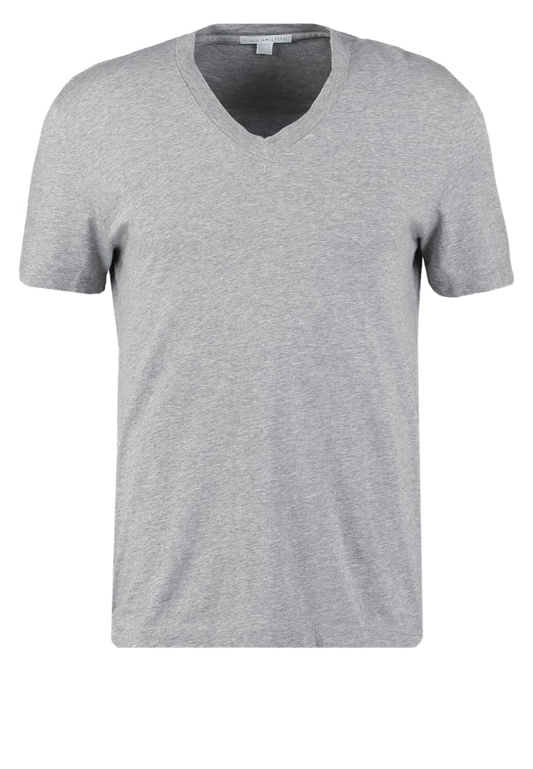 James Perse Tshirt basic heather grey - MHE3352