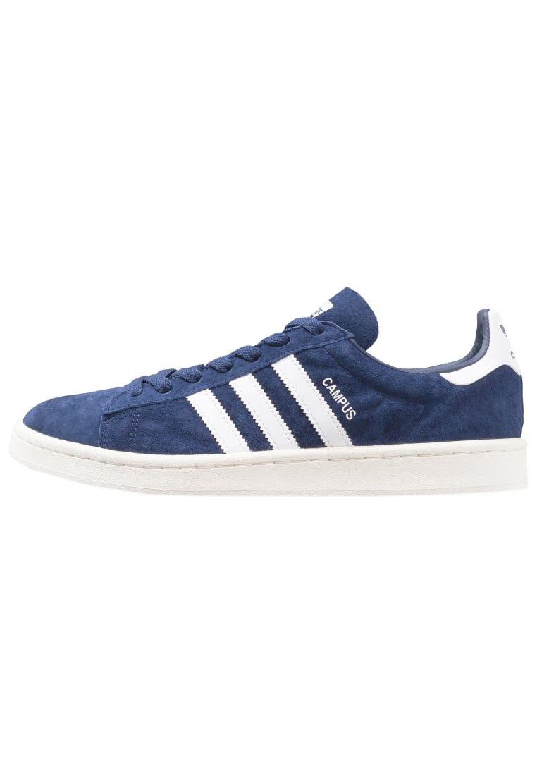 adidas Originals CAMPUS Tenisówki i Trampki dark blue/white/chalk white - BEF02